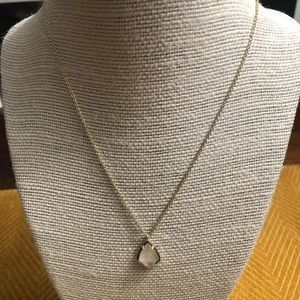 Kendra Scott Cory Necklace Gold/Ivory MOP